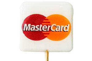 Леденцы-спирали на палочке MasterCard
