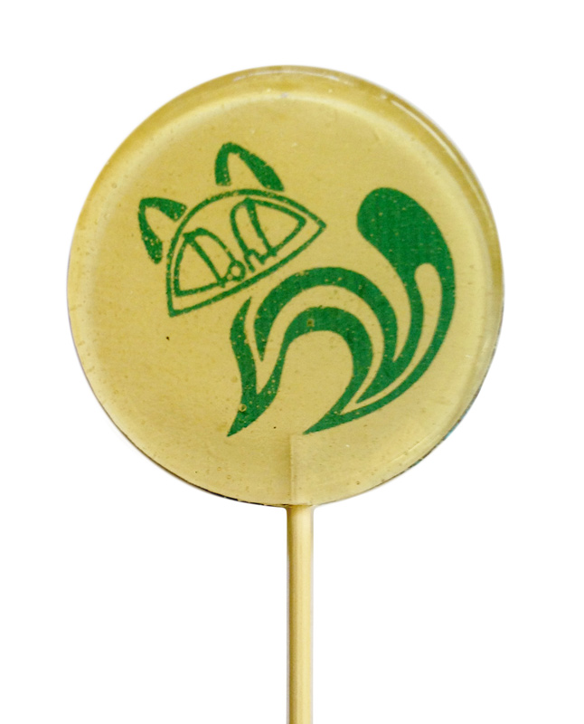 Корпоративный подарок - леденец на палочке с лого